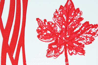 Canada Day, Swirly scribbles thinlits
