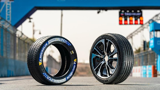 Ban khusus mobil sport listrik Michelin, keunggulannya apa?