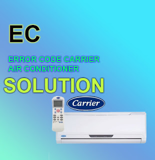 carrier ac error code EC