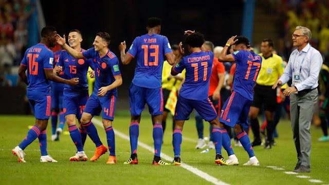 Piala Dunia 2018: Menang 3-0, Kolombia Singkirkan Polandia