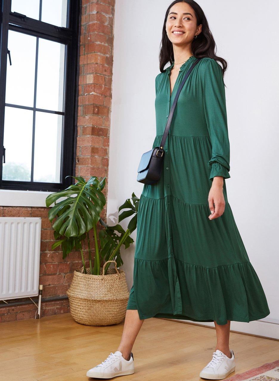 my midlife fashion, Baukjen Paige dress