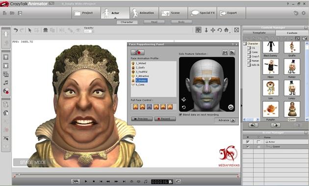 Crazytalk Animator pro 1 2
