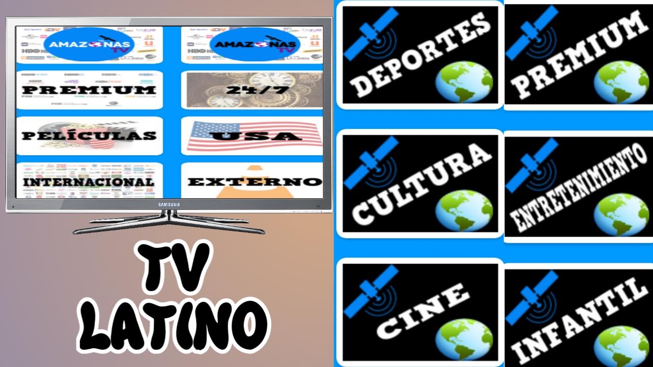 الحصري اللاتيني لمشاهدة القنوات العالمية المحظورة مجانا -Amazonas Tv