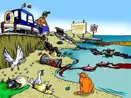 जल प्रदूषण का चित्र