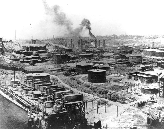 Historia de Standard Oil Company
