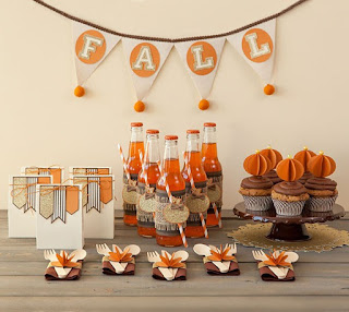 Fun Party Table Decorations to make with Cricut