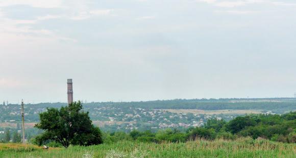 Константиновка. Частный сектор жилого района Украинский хутор