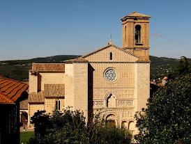 The Church of San Francesco al Prato, where Braccio da Montone is buried