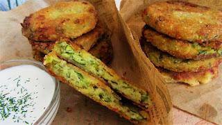 Kako napraviti pohane polpete od tikvica i sira/How to make zucchini fritters with cheese