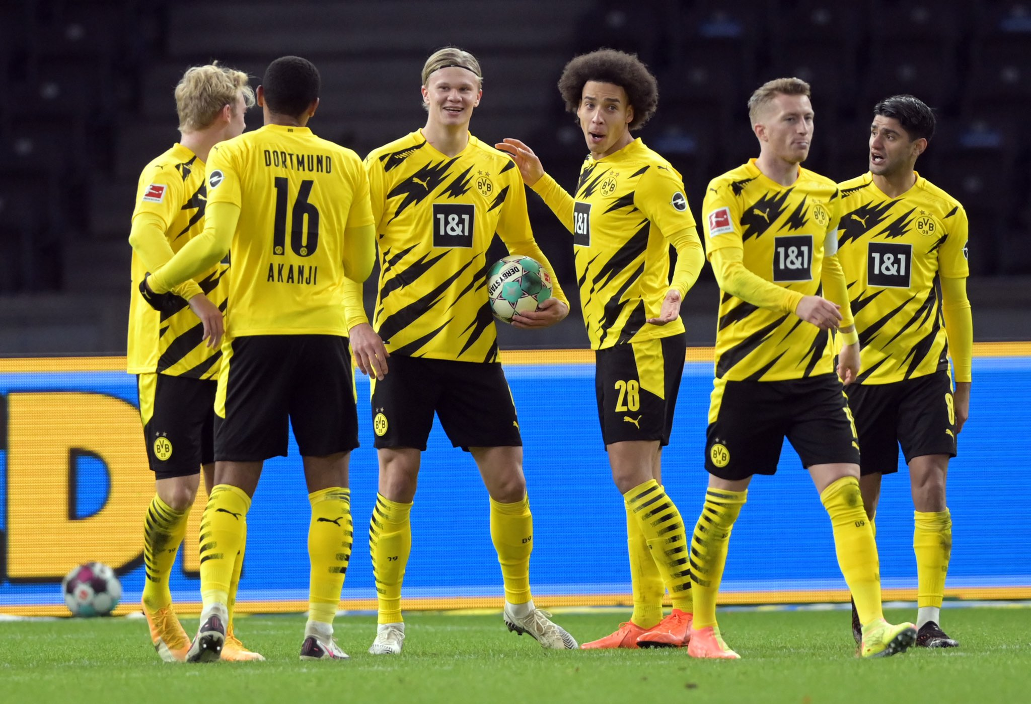 Erling Haaland inspired Borussia Dortmund to yet another win