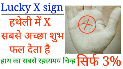 Cross Sign In Palmistry