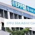 EPFO SSA Admit Card 2019 Out for Phase-I Online Examination - Get Here Direct Link