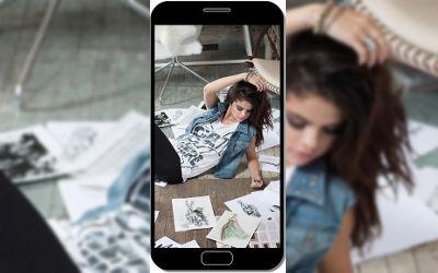 Selena Gomez Chanteuse - Fond d'Écran en QHD pour Mobile