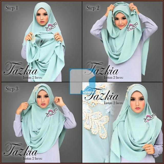 hijab tutorial pashmina terbaru style 2