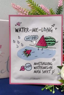 A'Bloom Moisturizing Watermelon Mask Sheet (Water - Me - Long )