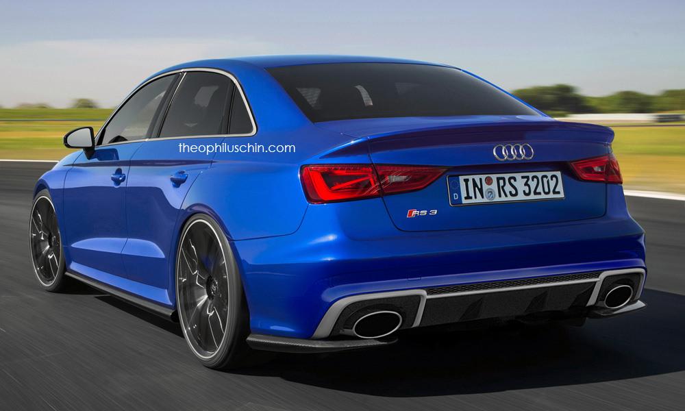 Audi RS3 Sedan có thể nâng công suất lên 400 mã lực
