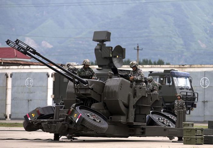 AF902 FCS 35 mm Anti-Aircraft Gun Air
