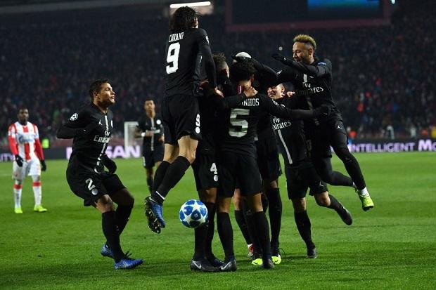 Ligue des Champions: Le PSG écrase l'Étoile rouge de Belgrade