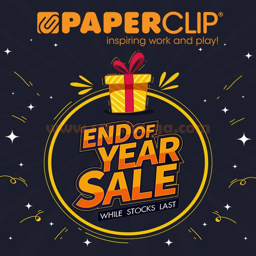 Promo Paperclip END OF YEAR SALE - Diskon hingga 30%
