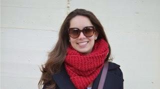 4 maneras de llevar... una bufanda granate