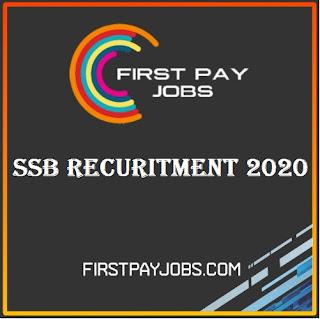 SSB Head Constable Recruitment 2020