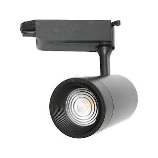 18W COB LED軌道投射燈,可調焦距,LED軌道燈