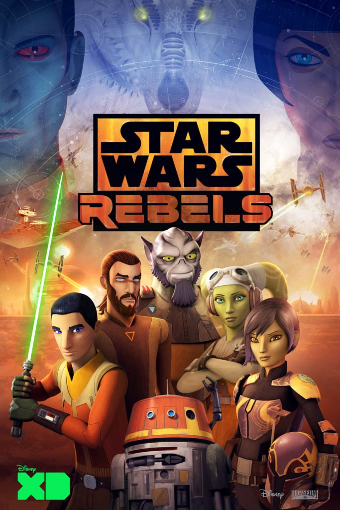 Star Wars Rebels Serie Completa 1080p Dual Latino/Ingles