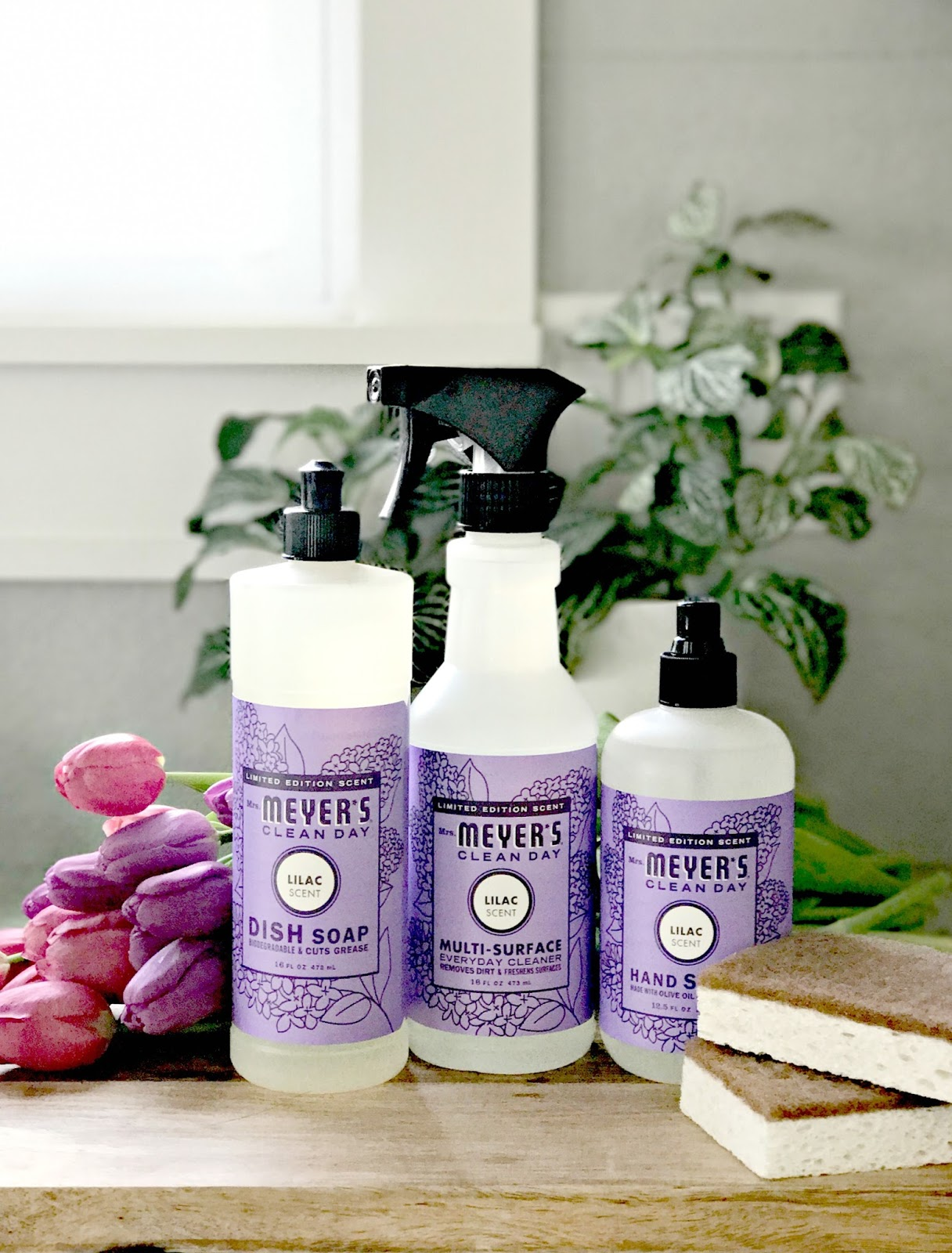 Spring Clean With A Free Mrs Meyer S Set In Their