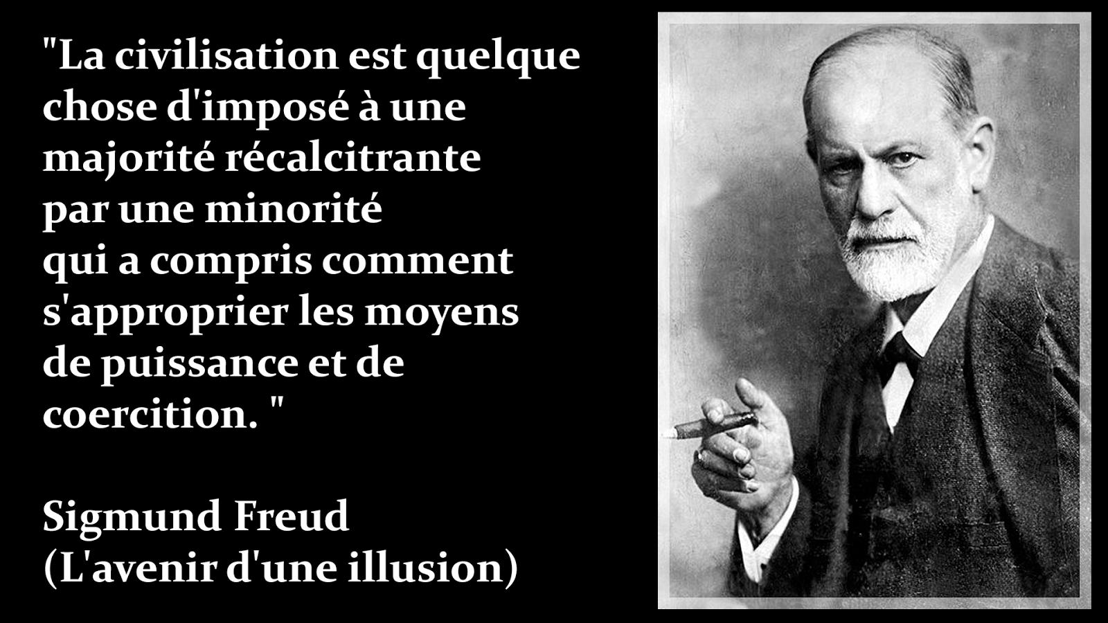 Citaten Freud : Freud citation