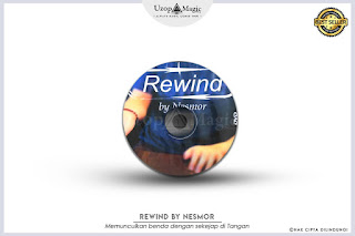 Jual alat sulap rewind by Nesmor