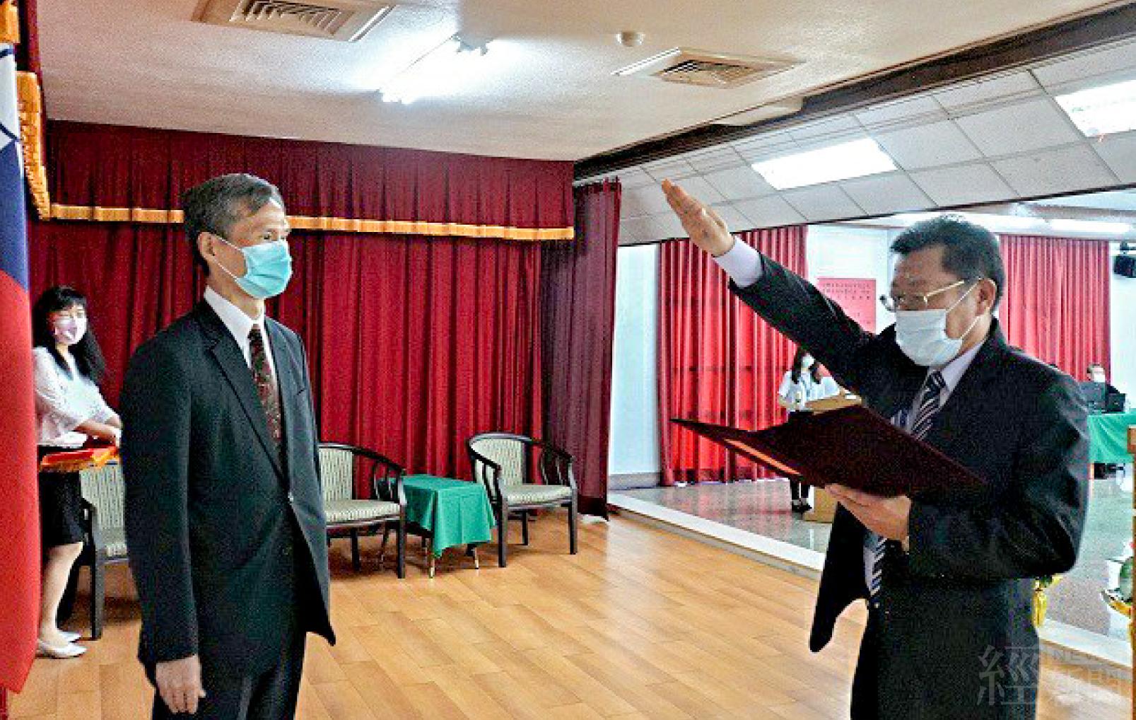 總經理李嘉榮宣示就任