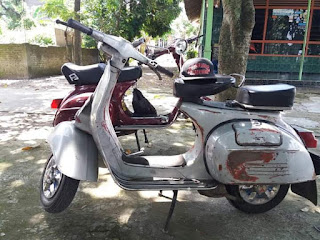 Dijual Vespa Klasik Sprint Th. 77 dan Vespa Super Th. 78