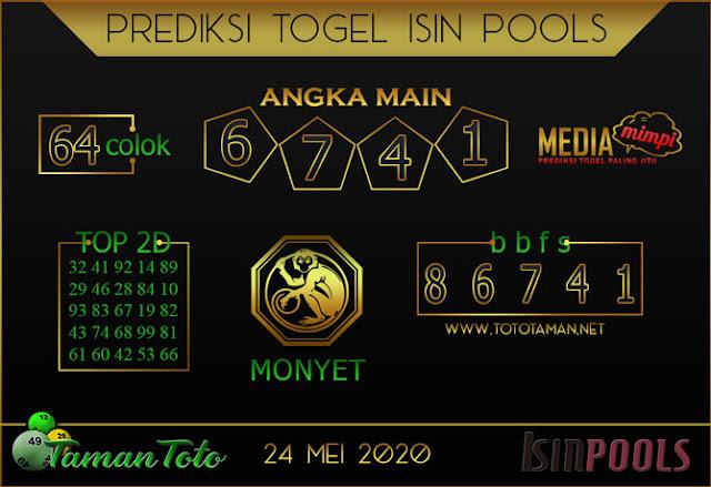 Prediksi Togel ISIN TAMAN TOTO 24 MEI 2020