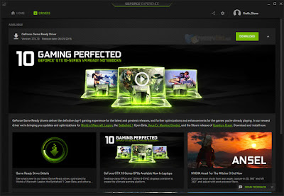 NVIDIA GeForce Experience 3.3.0.95