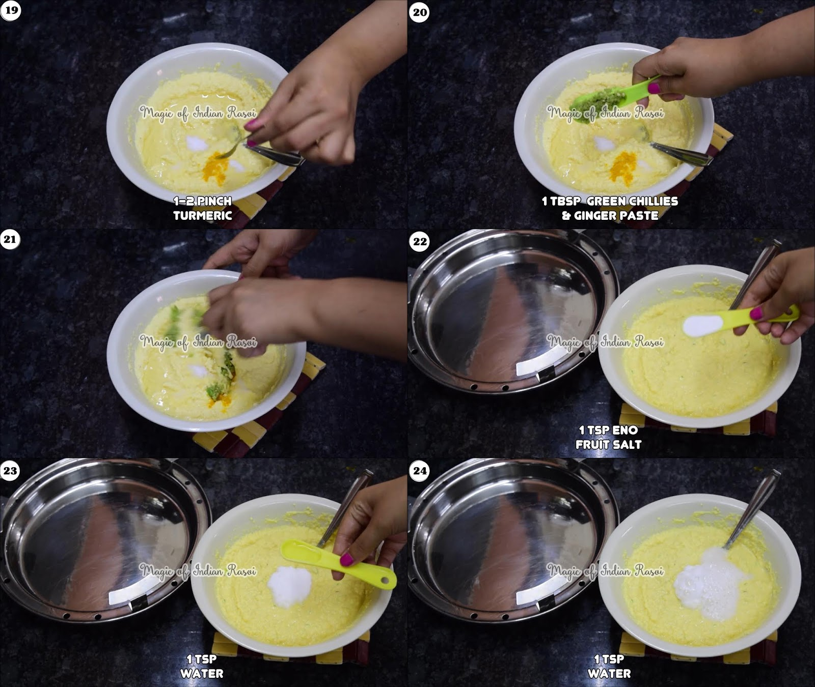 Tam Tam Khaman Dhokla Recipe - 5
