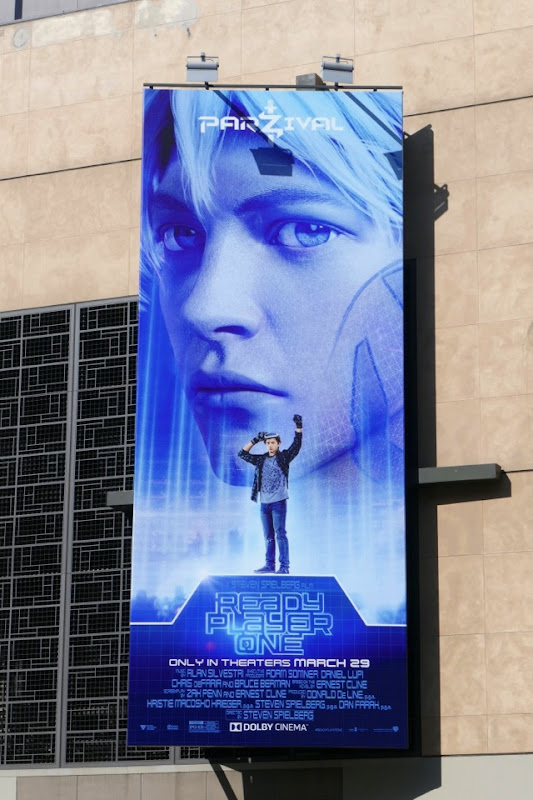 Ready Player One Parzival billboard