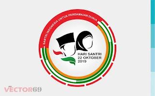 Logo Resmi Hari Santri Nasional (HSN) 2019 Santri Indonesia Untuk Perdamaian Dunia - Download Vector File SVG (Scalable Vector Graphics)