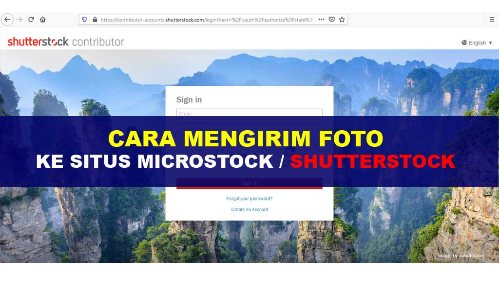 Fajriology.com - cara mengirim foto ke situs microstock shutterstock