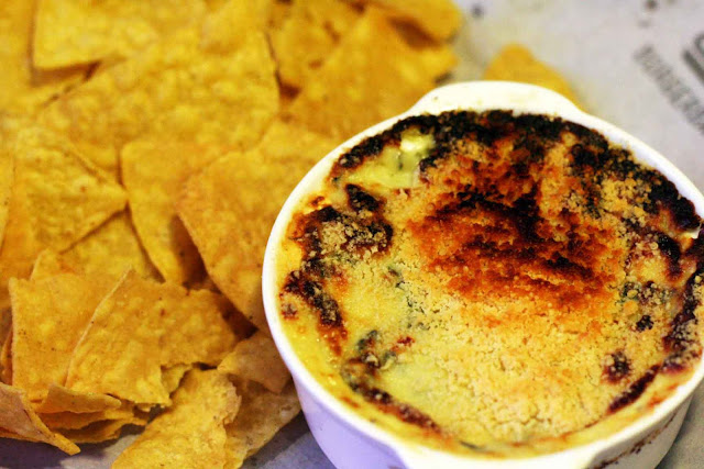 The Dip of Warm Artichoke and Spinach