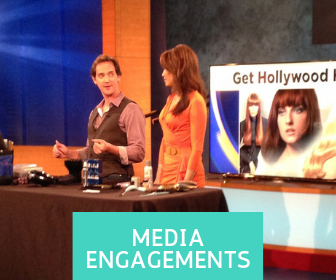 Celebrity Hair Stylist Billy Lowe on air and media appearances