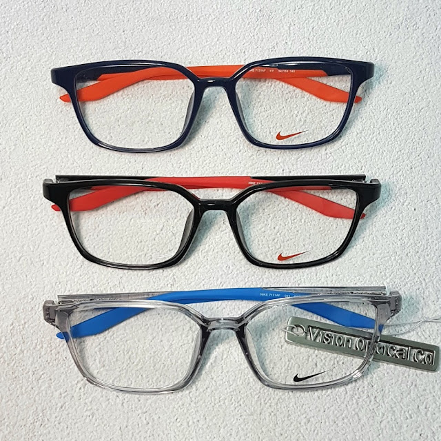 NIKE 7131AF 方形輕纖眼鏡