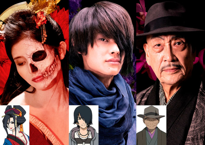 Hell Girl (Jigoku Shoujo) live-action - personajes
