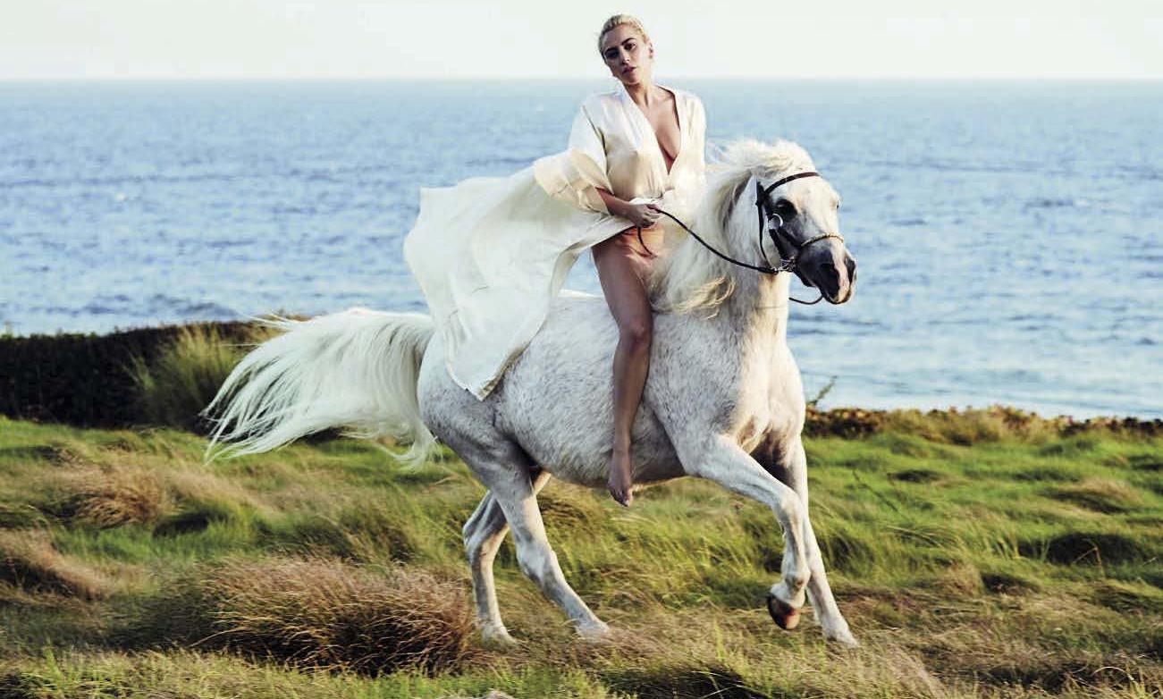 Lady Gaga para Vanity Fair Italia (diciembre 2016)