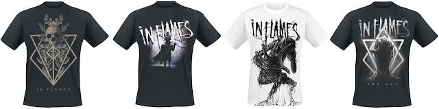 In Flames - koszulki