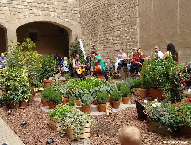 Musica Jardin de Rubio i Lluch nel Raval