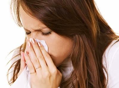 Congestión fría dolor de cabeza