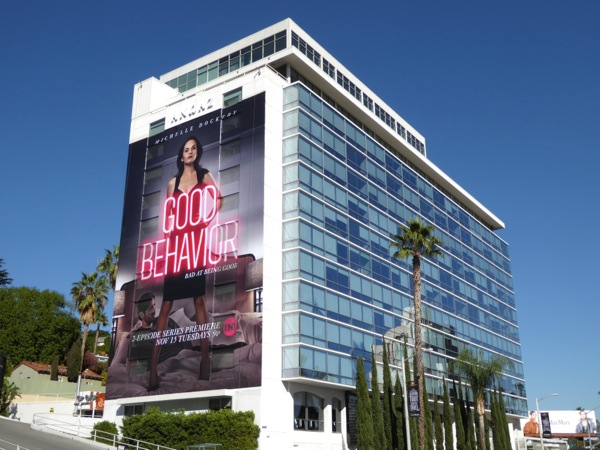 Giant Good Behavior series premiere billboard
