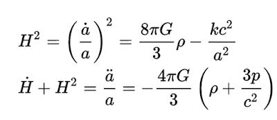 Ecuaciones de Friedmann