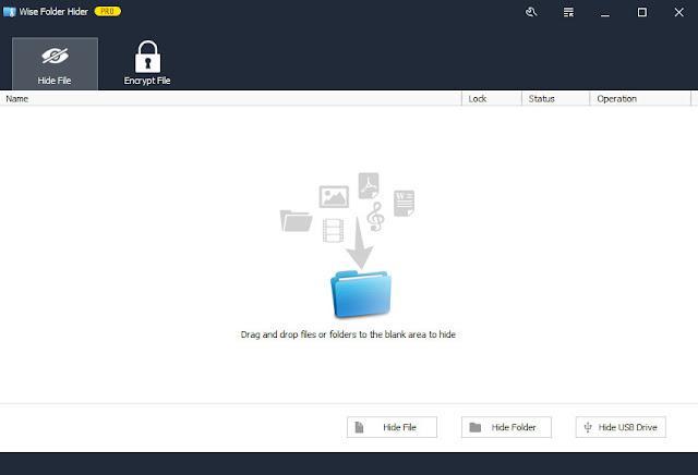 Screenshot Wise Folder Hider Pro 4.3.2.191 Full Version