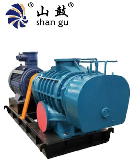 Máy thổi khí shangu, quạt roots blower, shangu roots blower
